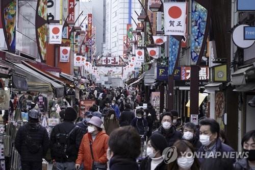 일본 코로나 신규확진 `6주째 월요일 최다`…긴급사태 확대할 듯